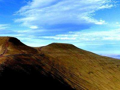 Pen y Fan and Cribbyn  at Visit Powys